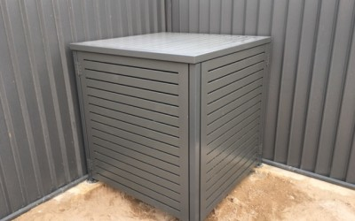 Fully enclosed pool pump cover